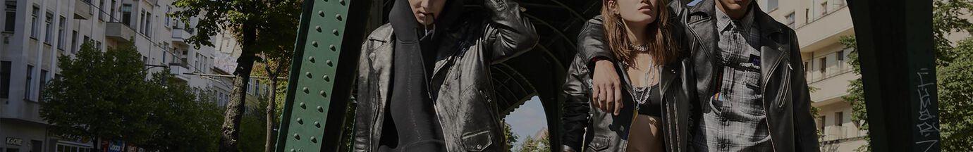 Leather Jackets Man Diesel