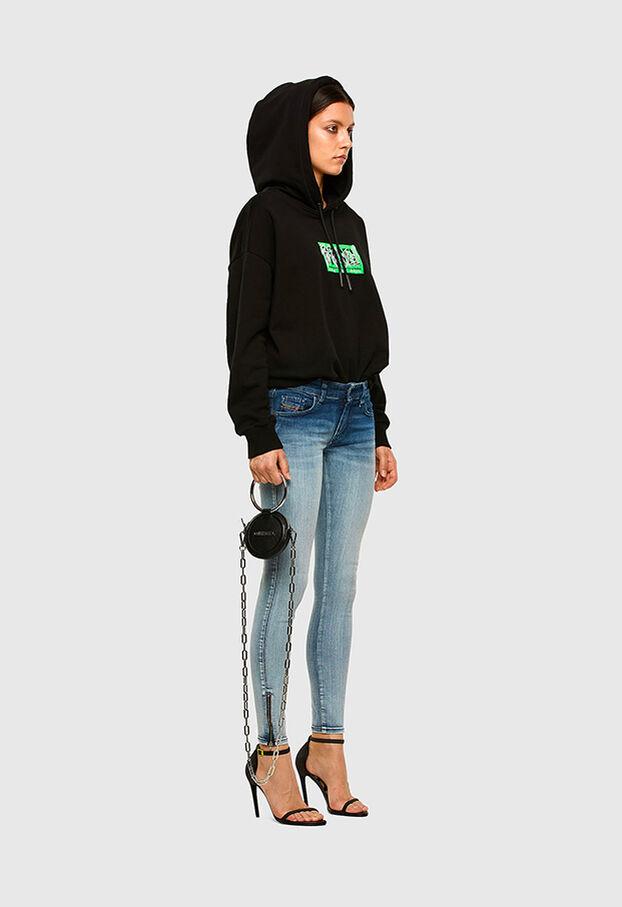 Slandy Low 009CV, Light Blue - Jeans