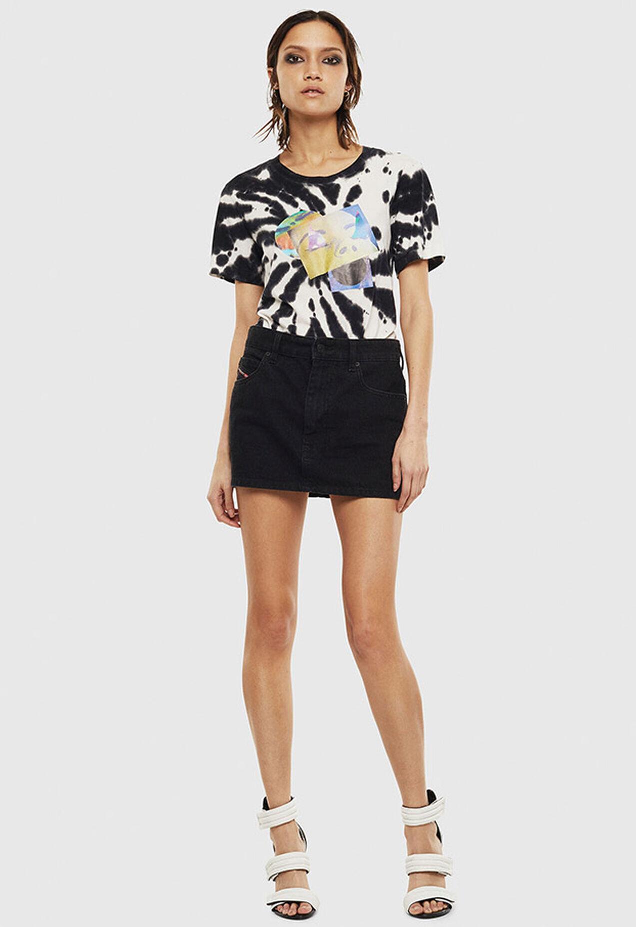 T-SILY-S4, Black/White - T-Shirts