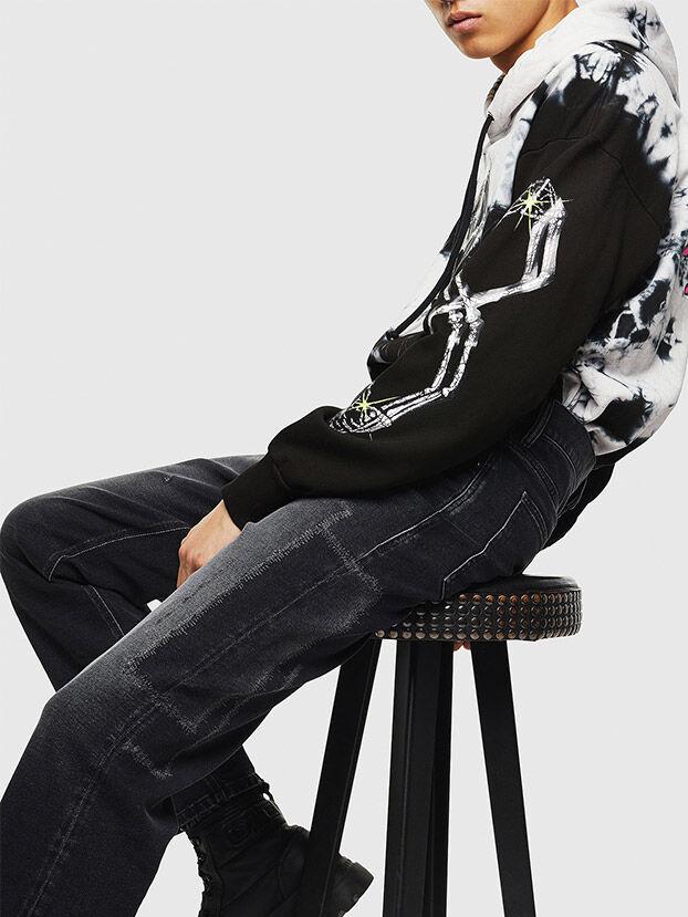 D-Macs 0097S, Black/Dark grey - Jeans