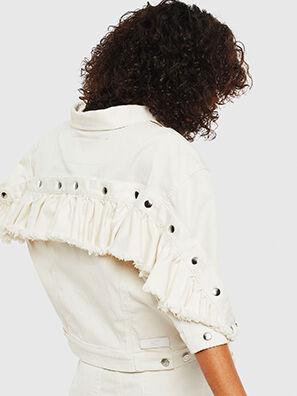 D-REEF JOGGJEANS, Cream - Denim Jackets
