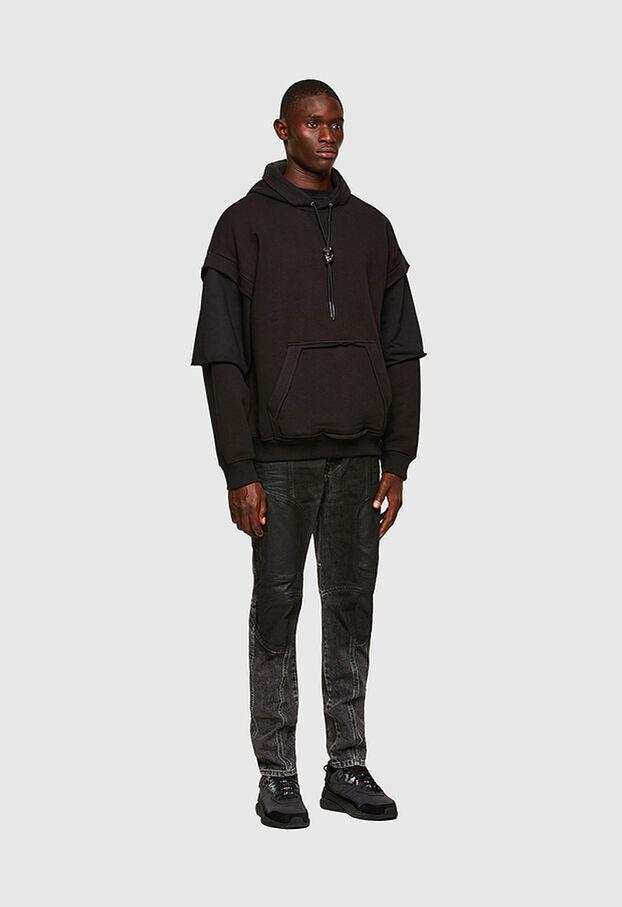 D-Vider 009QZ, Black/Dark grey - Jeans