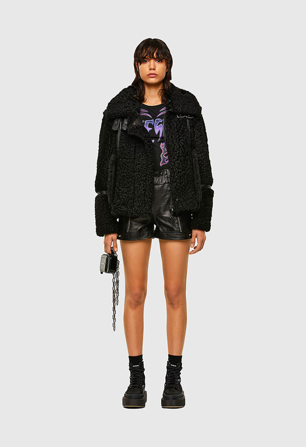 L-EYRE, Black - Leather jackets
