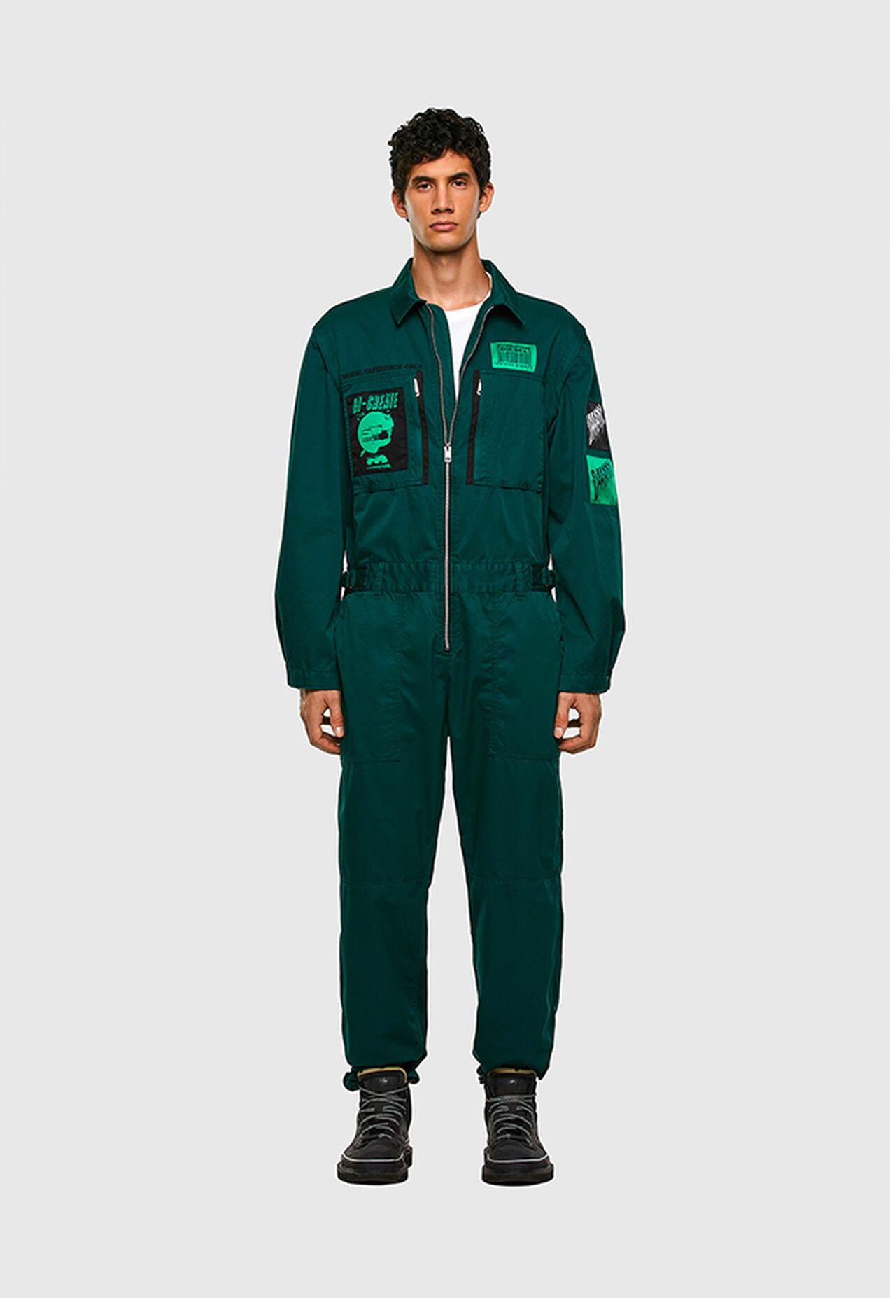 P-LARRY, Dark Green - Pants