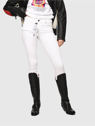 Slandy 086AC, White - Jeans