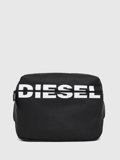 Diesel - F-BOLD CROSS, Black - Crossbody Bags - Image 1