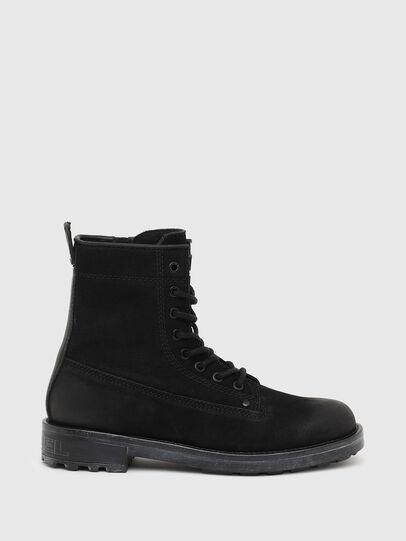 Diesel - D-THROUPER DBB ZC W, Black - Ankle Boots - Image 1