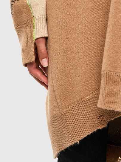 Diesel - M-ANNE, Light Brown - Knitwear - Image 6