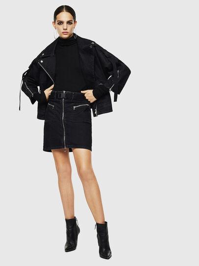 Diesel - OSILKA, Black - Skirts - Image 6