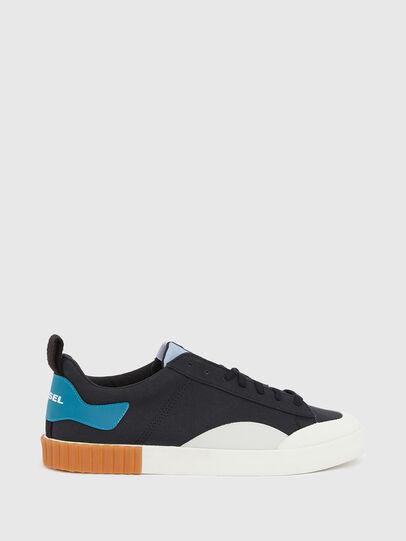 Diesel - S-BULLY LC, Black/Blue - Sneakers - Image 1