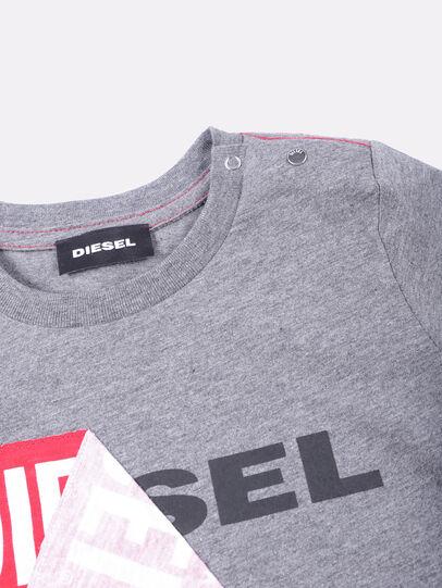 Diesel - TOQUEB, Grey - T-shirts and Tops - Image 3