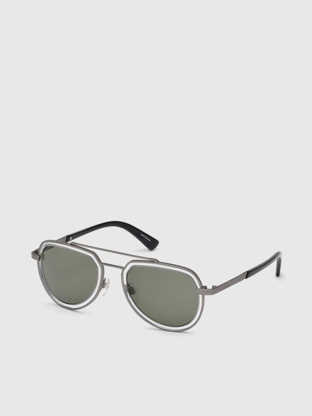Diesel DL0266, Black/Grey - Eyewear - Image 2
