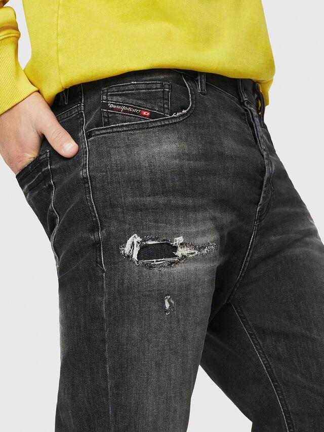 Diesel - D-Vider 069DM, Black/Dark grey - Jeans - Image 3