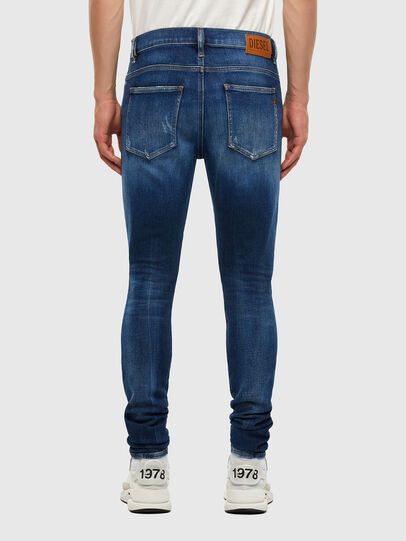 Diesel - D-Istort 009CX, Medium blue - Jeans - Image 2