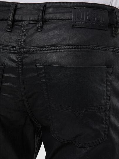 Diesel - Krooley JoggJeans 0849R, Black/Dark grey - Jeans - Image 4
