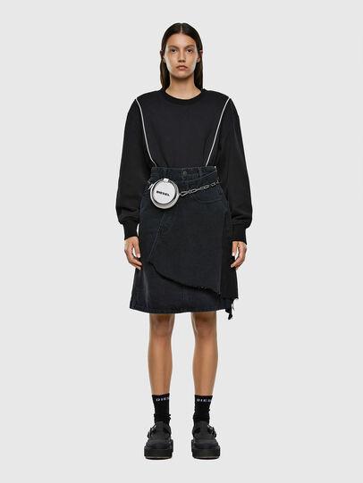 Diesel - DE-TOBY, Black - Skirts - Image 6