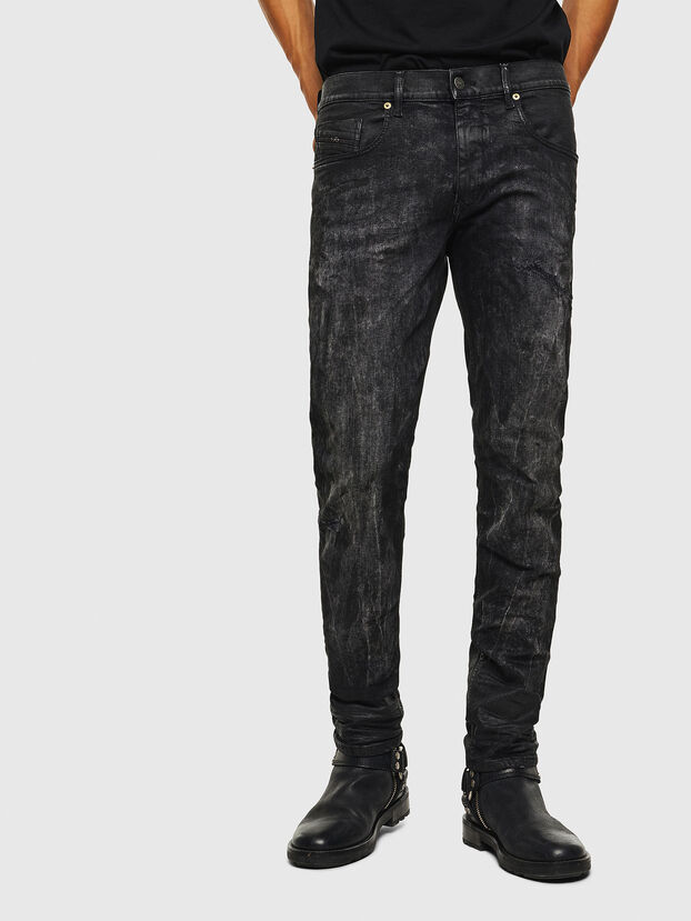 D-Strukt 069KE, Black/Dark grey - Jeans