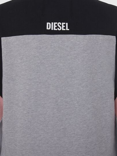 Diesel - UFLT-PHYLOSH, Gray/Black - Sweaters - Image 4
