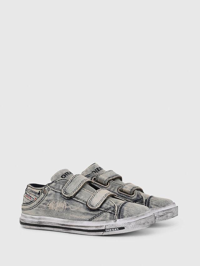 Diesel - SN LOW 11 STRAP  DEN, Grey Jeans - Footwear - Image 2
