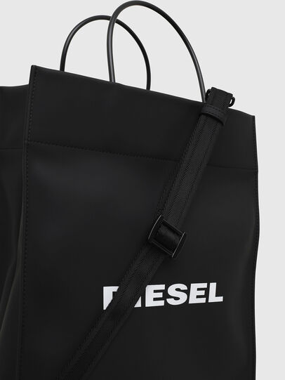 Diesel - SAKETTONE, Black - Shopping and Shoulder Bags - Image 4
