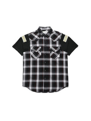 D-WESTERNSPORT-C, Black/Yellow - Shirts
