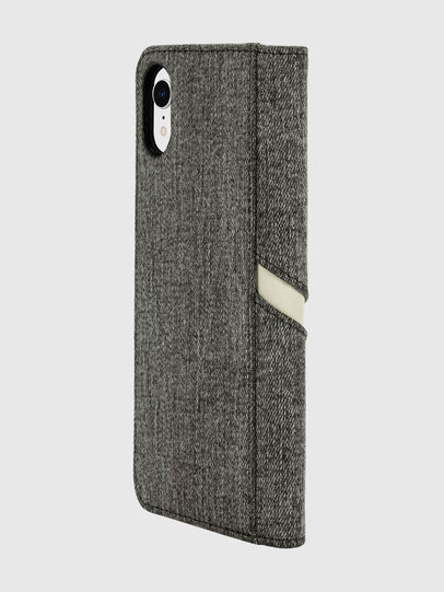 Diesel - DIESEL 2-IN-1 FOLIO CASE FOR IPHONE XR, Grey - Flip covers - Image 5