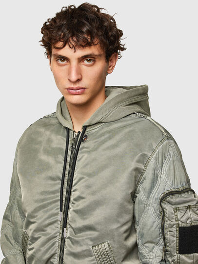 Diesel - J-LAGASH, Military Green - Jackets - Image 3