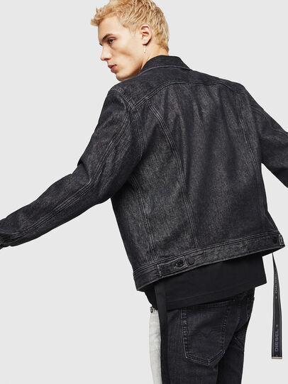 Diesel - D-BRAY, Black - Denim Jackets - Image 5