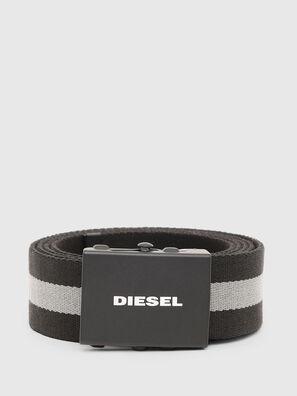 B-PLATA, Black/Grey - Belts