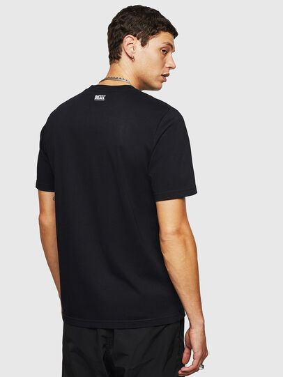 Diesel - T-JUST-B27, Black - T-Shirts - Image 2