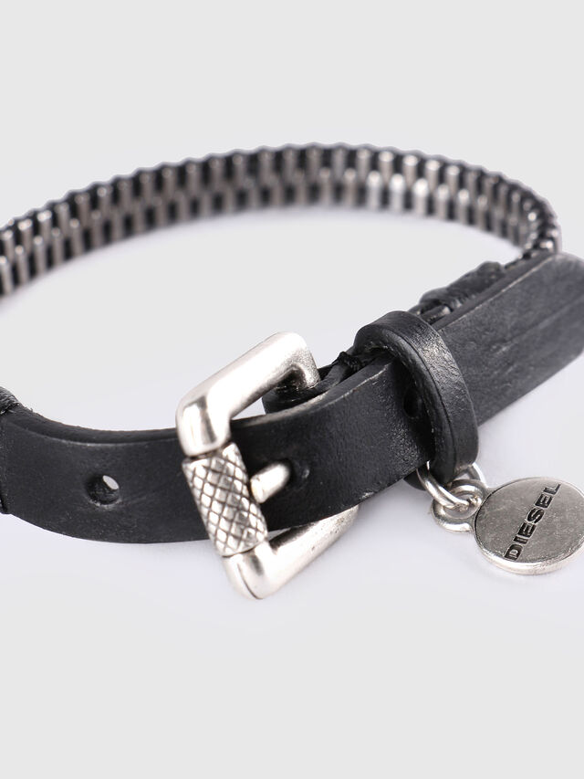 A-ZIPPER, Black/Silver
