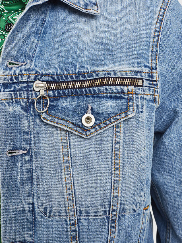 Diesel - D-ROY, Blue Jeans - Denim Jackets - Image 3