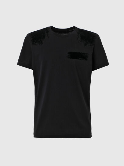 Diesel - T-IEGO-A, Black - T-Shirts - Image 1