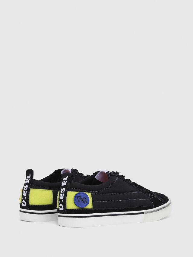 Diesel - D-VELOWS LOW PATCH, Black - Sneakers - Image 3