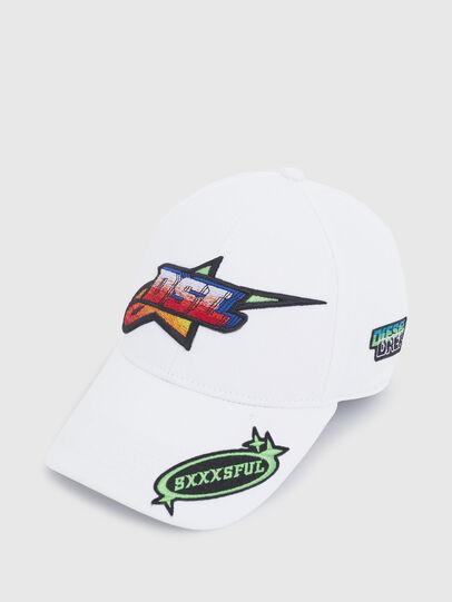 Diesel - ASTARS-CAP-B1, White - Caps - Image 3
