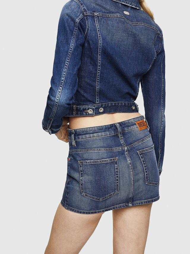 Diesel - DE-EISY, Blue Jeans - Skirts - Image 2