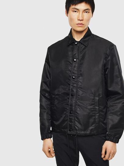 Diesel - J-ROMMY, Black - Jackets - Image 1