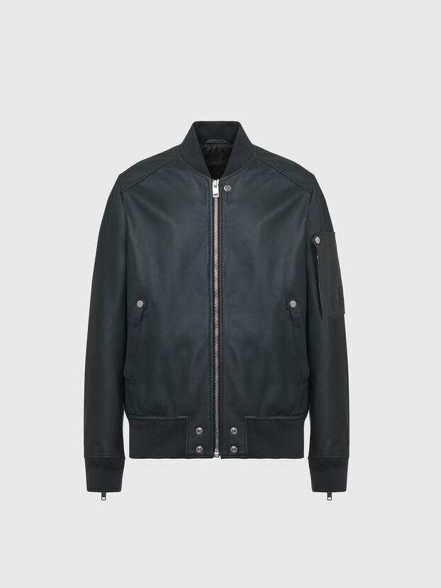 L-JOSEPH, Dark Green - Leather jackets