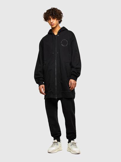 Diesel - S-KAPPAT, Black - Sweaters - Image 4