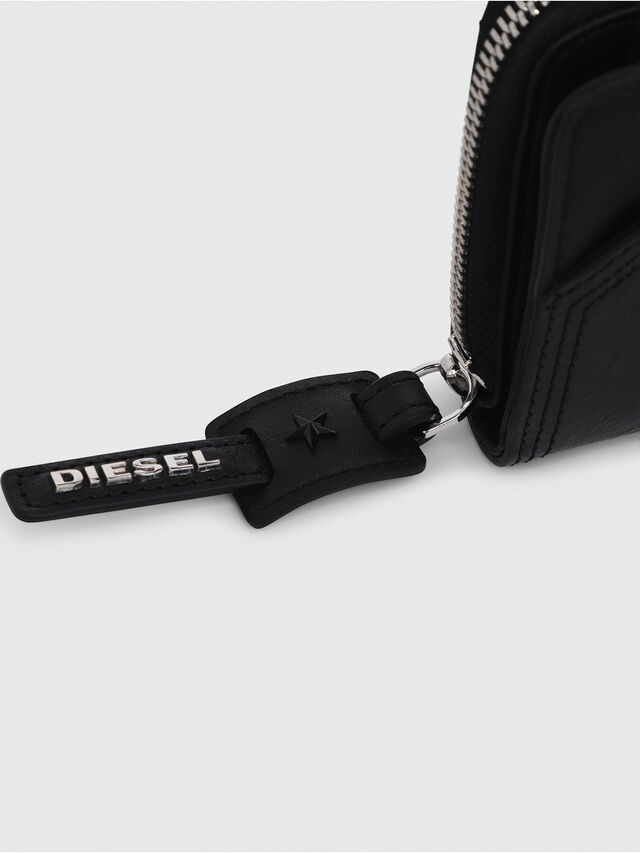 Diesel - BUSINESS II, Opaque Black - Small Wallets - Image 4