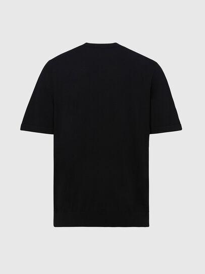 Diesel - K-CROFT-SS, Black - Knitwear - Image 2