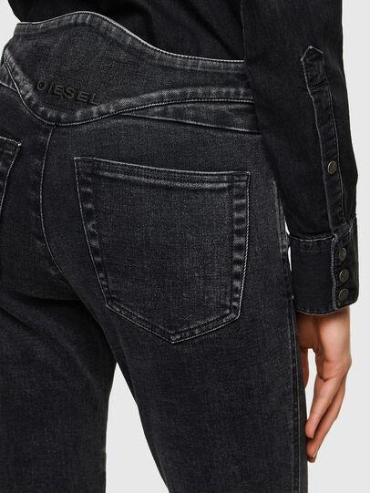 Diesel - Babhila 009UZ, Black/Dark grey - Jeans - Image 4