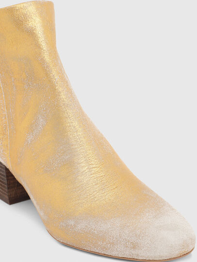 Diesel - JAYNET MAB, Gold - Ankle Boots - Image 5