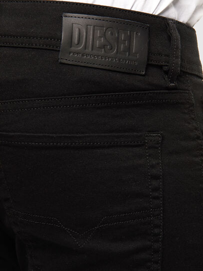 Diesel - Sleenker 069EI, Black/Dark grey - Jeans - Image 3