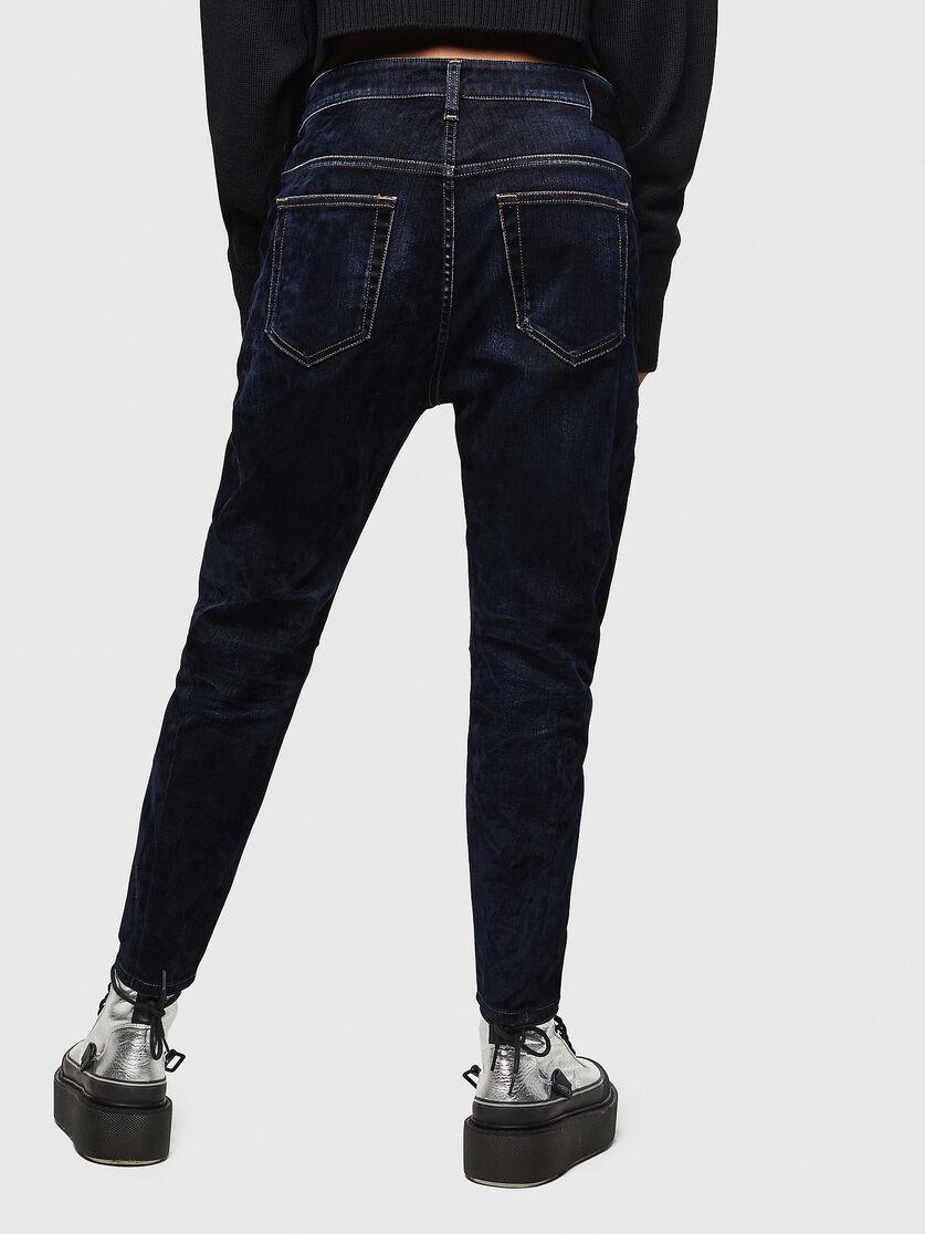 D Fayza 0091u Women Boyfriend Dark Blue Jeans Diesel