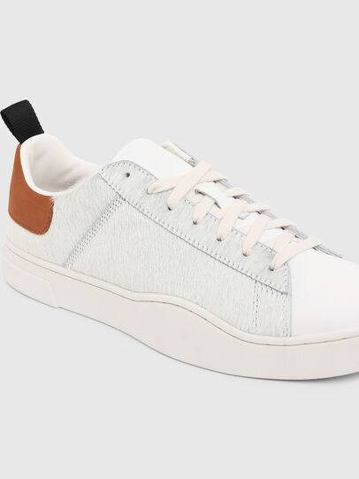 Diesel - S-CLEVER LOW LACE, White/Brown - Sneakers - Image 5