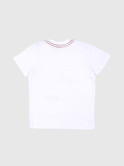 Diesel - TOQUEB MC, White - T-shirts and Tops - Image 2