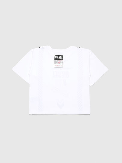 Diesel - TJTITA, White - T-shirts and Tops - Image 2