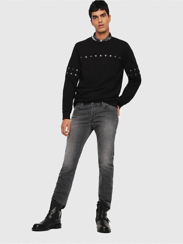 Diesel - Waykee 0662U, Black/Dark grey - Jeans - Image 5