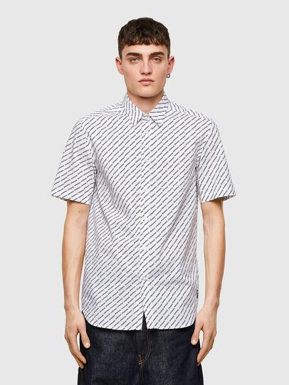 Diesel - S-RILEY-SHO-KA-C, White - Shirts - Image 1